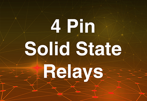 4 pin solid state relays